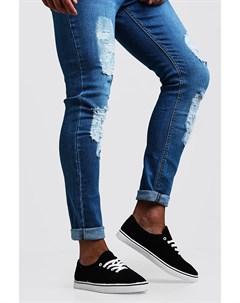 Туфли лодочки из холщовой ткани на шнуровке Boohoo