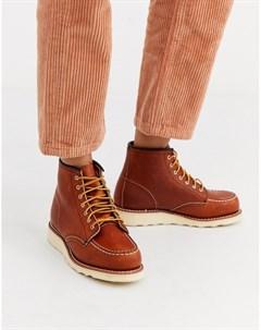 Кожаные ботинки в стиле мокасин 6 Inch Red wing