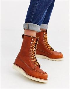 Классические ботинки высотой 8 дюймов с носком в стиле мокасин Red wing