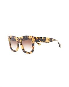 Солнцезащитные очки в оправе черепаховой расцветки Thierry lasry