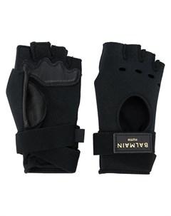 Перчатки митенки из коллаборации с Balmain Puma