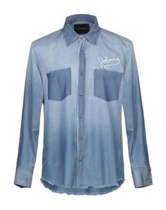 Джинсовая рубашка John richmond