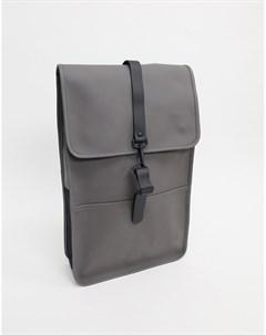 Темно серый непромокаемый рюкзак 1220 Rains