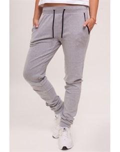Брюки Ladies Fitted Athletic Pants Grey S Urban classics