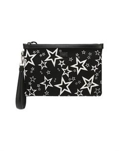 Текстильный клатч Millennials Star Dolce&gabbana
