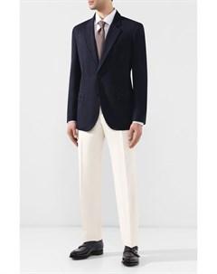 Пиджак из смеси шерсти и шелка Brioni
