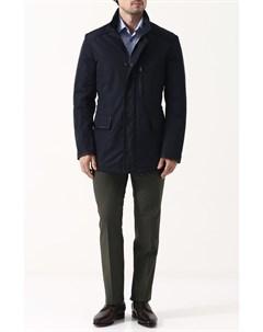 Куртка на молнии с воротником стойкой Brioni