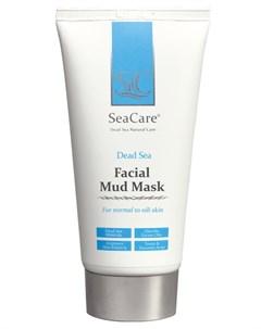 Омолаживающая грязевая маска для лица с минералами Мертвого Моря и растительными экстрактами 150 мл Seacare