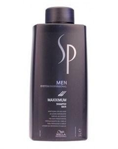 Шампунь против выпадения волос Максимум для мужчин Maximum Shampoo 1000 мл Wella sp