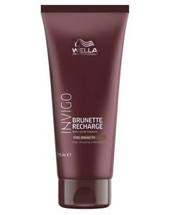 Бальзам уход оттеночный для холодных коричневых оттенков Color Recharge 200 мл Wella professionals