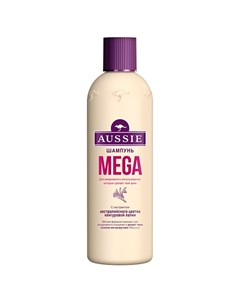 Шампунь MEGA для всех типов волос 300 мл Aussie
