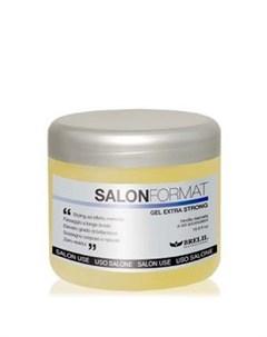 Гель для волос экстрасильной фиксации Салон формат Gel Extra Strong Brelil (италия)