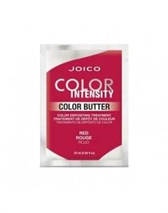Тонирующая маска саше с интенсивным красным пигментом Color Intensity Care Butter Red Joico (сша)