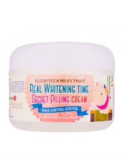 Пилинг крем для лица Milky Piggy Real Whitening Time Secret Pilling Cream Elizavecca (корея)