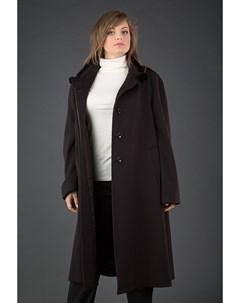 Пальто трапеция большого размера Heresis
