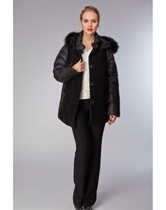 Комбинированная облегченная куртка утепленная пухом Visconf violanti