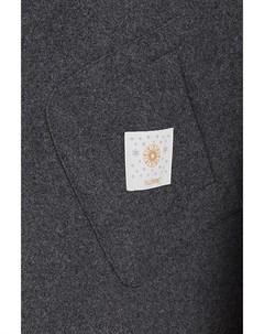 Шерстяное демисезонное пальто на большие размеры Visconf violanti