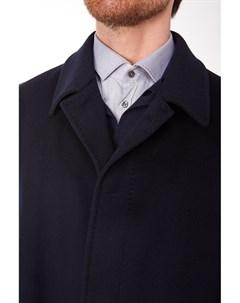 Короткое мужское пальто с супатной застежкой и глухим воротником Heresis