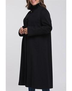 Итальянское расклешенное пальто с мехом норки Heresis