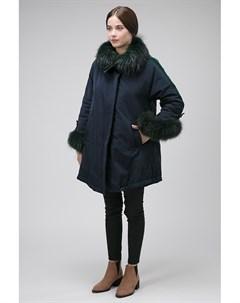 Демисезонная женская куртка с бархатными лампасами Visconf violanti