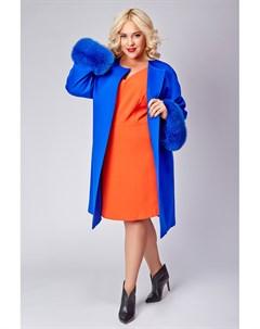 Женское пальто большого размера с мехом Heresis