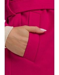 Длинное итальянское женское пальто на запахе Heresis
