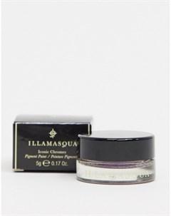 Кремовые тени для век iconic chrome Серый Illamasqua