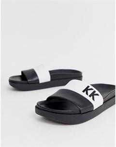 Шлепанцы Черный Kendall + kylie
