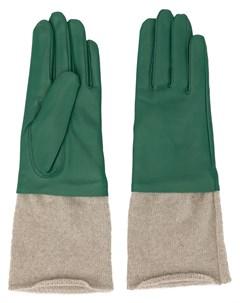 перчатки с трикотажными вставками Undercover