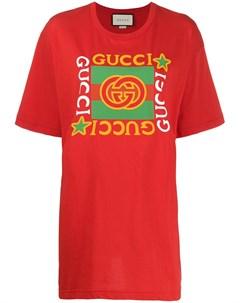 Футболка оверсайз с логотипом Gucci