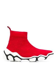 кроссовки Glam Run Red valentino