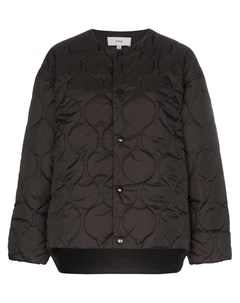 Стеганая куртка без воротника Hyke