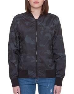 Куртка Ladies Light Bomber Jacket Camo женская Dark Camo S Urban classics