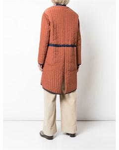 Стеганое пальто свободного кроя Nomia