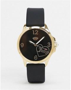 Часы с логотипом Черный Juicy couture