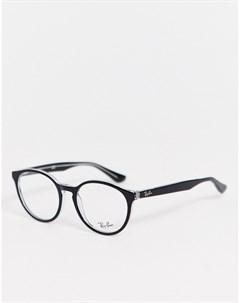 Круглые очки с прозрачными стеклами 0RX5380 Ray-ban®