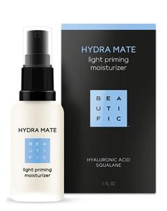 Флюид легкий увлажняющий для лица с гиалуроновой кислотой и скваланом Hydra Mate 30 мл Beautific