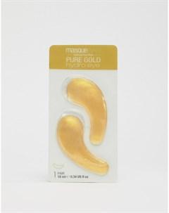 Охлаждающие патчи для глаз Gold Hydro Gel Золотой Masquebar