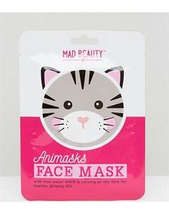 Эксклюзивная листовая маска для лица в виде кота ASOS Мульти Beauty extras