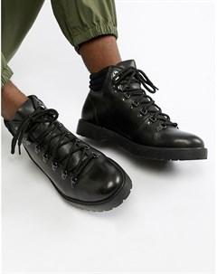 Черные походные ботинки Zign