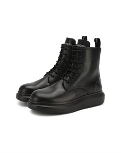 Кожаные ботинки Alexander mcqueen