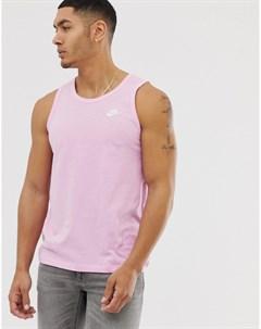 Розовая майка Розовый Nike
