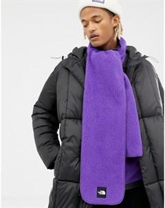 Фиолетовый флисовый шарф Denali The north face