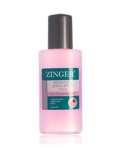 Жидкость Для Снятия Лака С Розовым Маслом 125 Мл Zinger