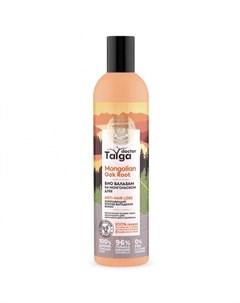 Doctor Taiga Бальзам Био Против Выпадения Волос Укрепляющий 400 Мл Natura siberica