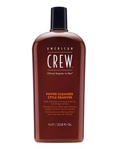 Power Cleanser Style Remover Шампунь Для Ежедневного Ухода Очищающий Волосы От Укладочных Средств 10 American crew