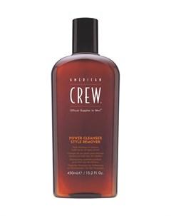 Power Cleanser Style Remover Шампунь Для Ежедневного Ухода Очищающий Волосы От Укладочных Средств 45 American crew