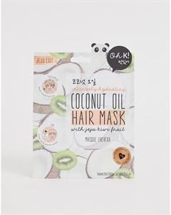 Маска для волос с кокосовым маслом Бесцветный Oh k!