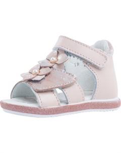 Сандалии для девочки светло розовый Котофей