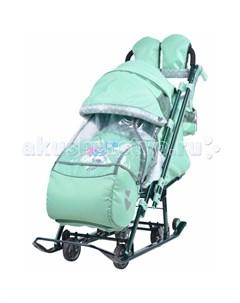 Санки коляска Детям 7 4 Nika